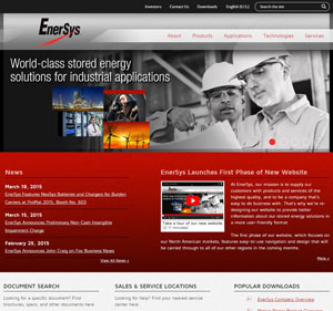 Enersys Energy Site