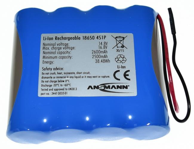 r18650 4s1p r4 un rechargeable batteries lithium ion 18650 ansmann