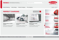 Fronius website