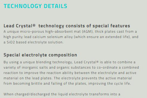 Lead Crystal Technology